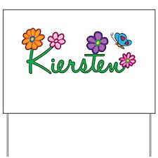 Kiersten Flowers Yard Sign
