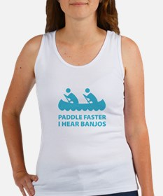 Paddle Faster Women's Tank Top