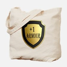 Plus 1 Armour Shield Tote Bag
