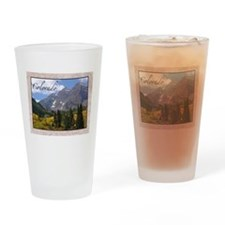 Cute State of colorado Drinking Glass