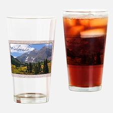 Unique Colorado Drinking Glass