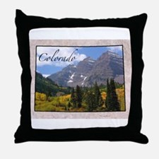 Unique State Throw Pillow