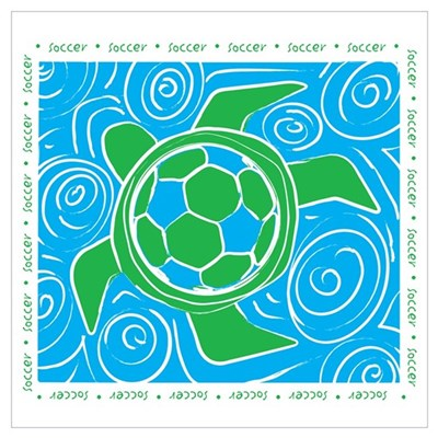 Turtle Beach Soccer Poster