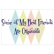 Organists Friends Canvas Art