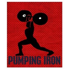 Pumping Iron Weightlifting Poster