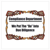 Compliance Wrapped Canvas Art
