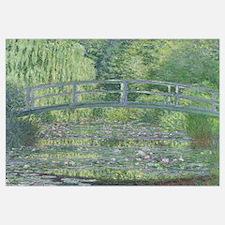Cute Monet water lilies Wall Art