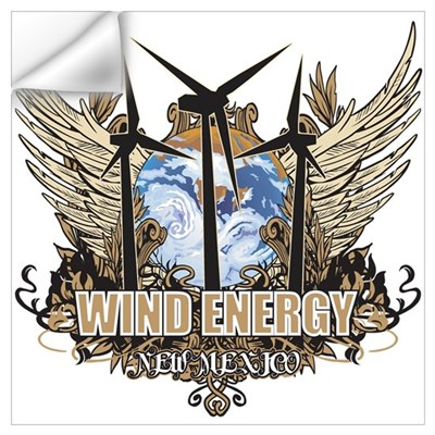 New Mexico Wind Energy Wall Decal