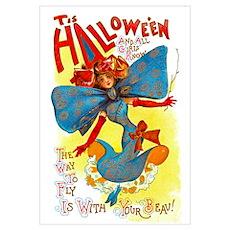 Halloween Girl Big 11x17 Print Poster