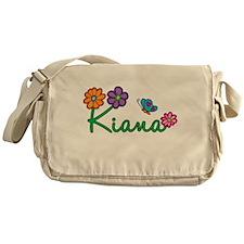 Kiana Flowers Messenger Bag