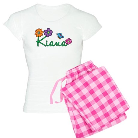 Kiana Flowers Women's Light Pajamas