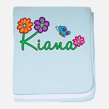 Kiana Flowers baby blanket