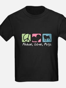 Peace, Love, Pugs T