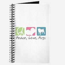 Peace, Love, Pugs Journal