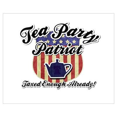 Tea Party Partiot Poster