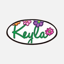 Keyla Flowers Patches