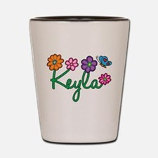 Keyla Flowers Shot Glass