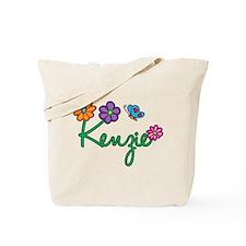 Kenzie Flowers Tote Bag
