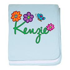 Kenzie Flowers baby blanket