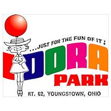 Idora Park Balloon Poster