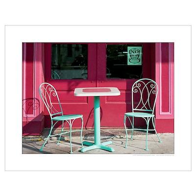 Garden District Cafe Poster