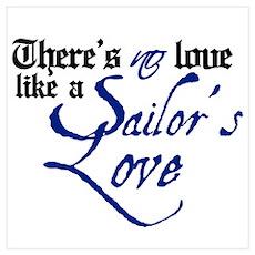 A Sailor's Love Poster
