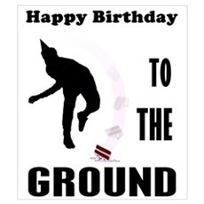 Happy Birthday To The Ground Canvas Art