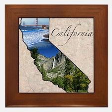 Cute Hollister california Framed Tile