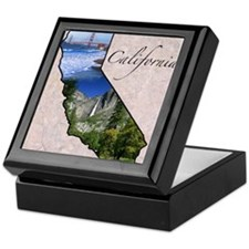 Funny California Keepsake Box