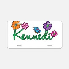 Kennedi Flowers Aluminum License Plate
