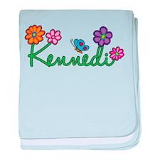 Kennedi Flowers baby blanket