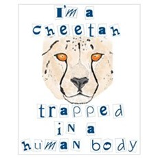I'm a Cheetah Canvas Art