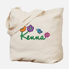 Kenna Flowers Tote Bag