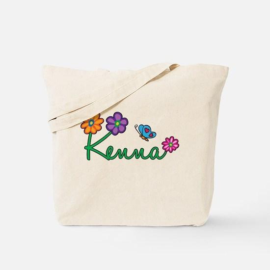 Kenna Flowers Tote Bag