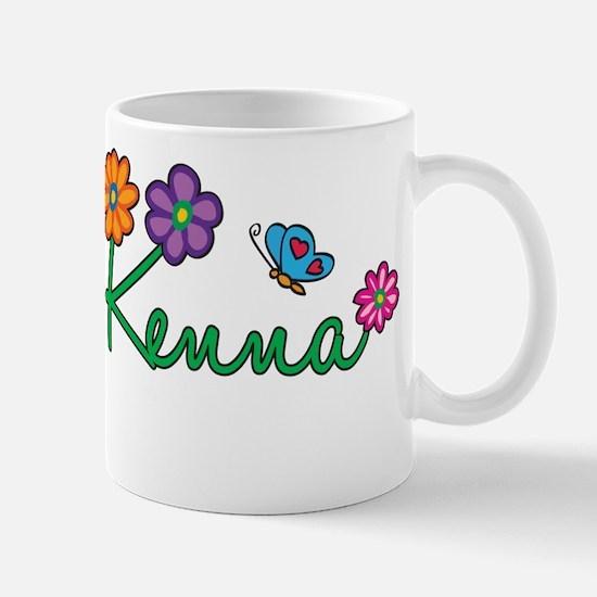 Kenna Flowers Mug