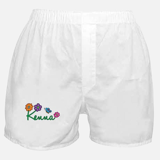 Kenna Flowers Boxer Shorts