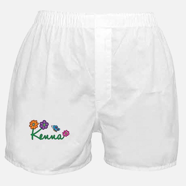 Kenna Flowers Boxer Shorts