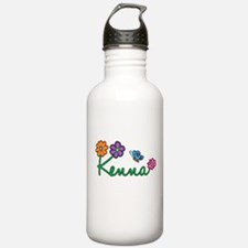 Kenna Flowers Water Bottle