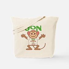 Little Monkey Jon Tote Bag