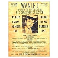 Wanted Creepy Karpis Poster