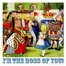 I'm The Boss Of You! Poster