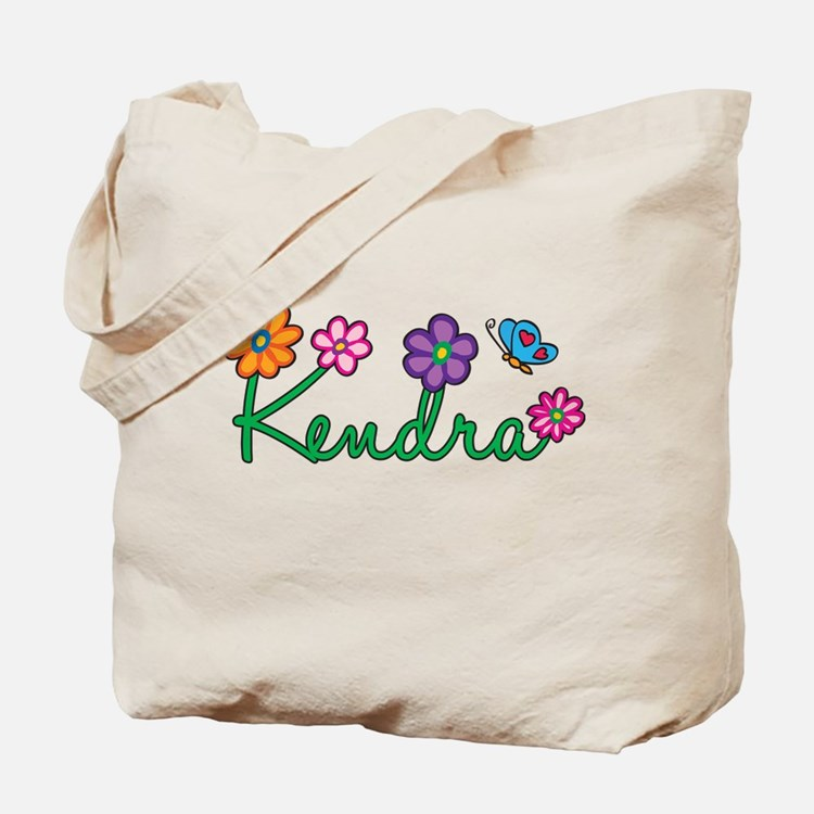 Kendra Flowers Tote Bag