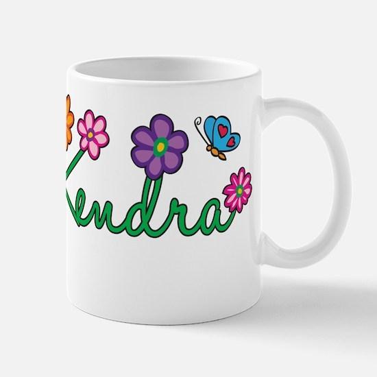 Kendra Flowers Mug