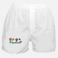 Kendra Flowers Boxer Shorts