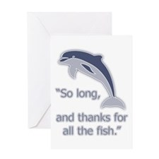 """""""So Long, thanks for all the Greeting Card"""