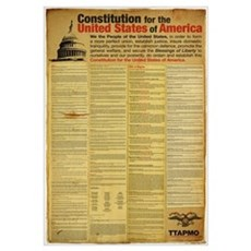 Constitution for the United States of America Canvas Art