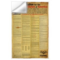 Constitution for the United States of America Wall Decal