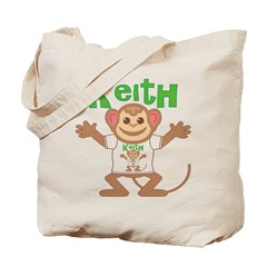 Little Monkey Keith Tote Bag