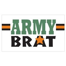 Military Army Brat Poster