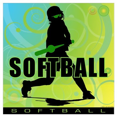 2011 Softball 105 Canvas Art